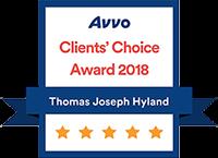 Avvo Clients Choice award 2018